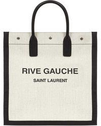 Saint Laurent Borsa A Mano N/S NOÉ - Bianco