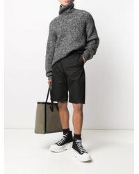 Alexander McQueen Shorts Black