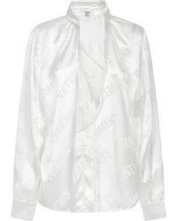 Vetements Shirt - White