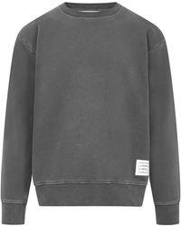 Thom Browne Tom Browne Sweatshirt - Grey