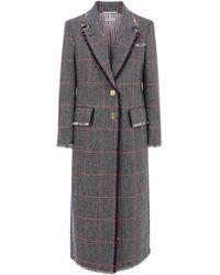 Thom Browne Coat - Gray
