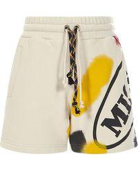 Palm Angels Shorts X Missoni - Bianco