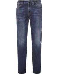 Etro Benessere Jeans - Blue