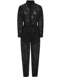 Alberta Ferretti Jumpsuit - Black