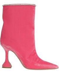 AMINA MUADDI Mia Boots - Pink