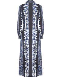 Alberta Ferretti Dresses Blue