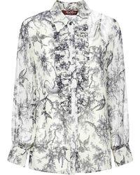 Max Mara Studio Max Mara Cral Shirt - White