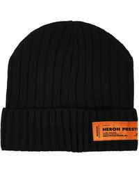 Heron Preston Buckle Cap - Black