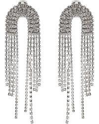 Alexandre Vauthier Cascade Earrings - Metallic