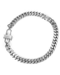 Givenchy - G Chain Lock Necklace - Lyst