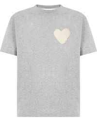 Haikure Lennie Heart T-shirt - Grey