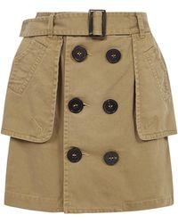 DSquared² Skirt - Brown