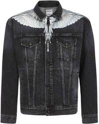 Marcelo Burlon Coats Black