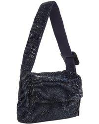 Benedetta Bruzziches Monique La Mignon Shoulder Bag - Blue
