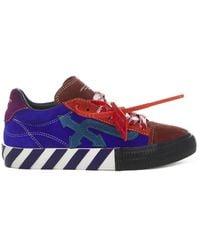 Off-White c/o Virgil Abloh - Vulcanized Sneakers - Lyst