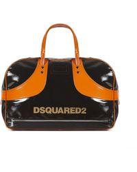 DSquared² Vintage Sport Duffel Bag - Brown