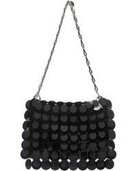 Paco Rabanne Hobo Shoulder Bag - Black