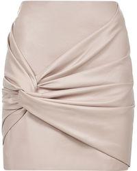 Amen Mini Skirt - Pink