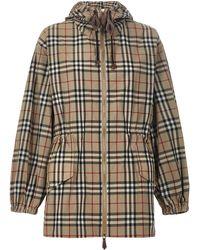 Burberry Raincoat - Natural