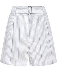 N°21 Shorts White - Multicolour