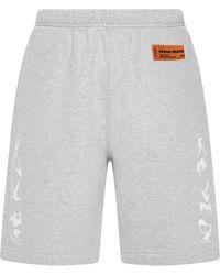 Heron Preston Shorts Grey