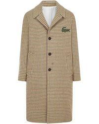 Lacoste Coat - Natural