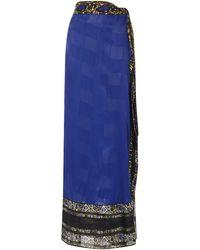 RAISA & VANESSA Midi Skirt - Blue