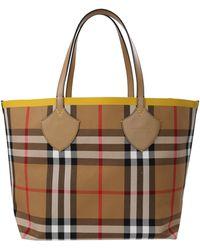 Burberry Hand Bag - Yellow