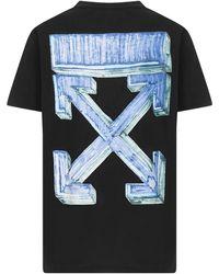 Off-White c/o Virgil Abloh Marker T-shirt - Black