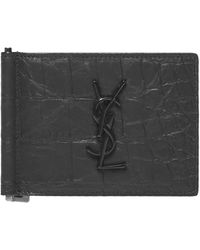 Saint Laurent Card Holder - Black