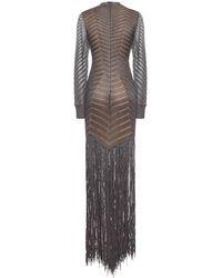Hervé Léger Dresses Silver - Grey