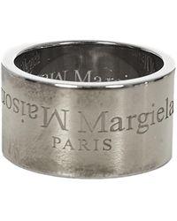 Maison Margiela Anello - Metallizzato