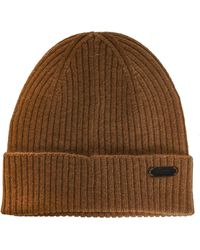 Brioni Hats Camel - Brown