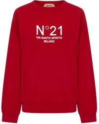 N°21 Sweatshirt - Red