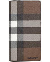 Burberry Portafogli Continental - Marrone