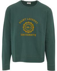 Saint Laurent Sweatshirt - Green