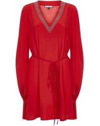 Fisico Mini Dress - Red