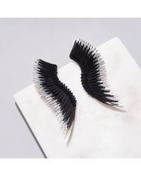 Mignonne Gavigan Madeline Earrings Black/silver