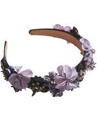 Mignonne Gavigan Karolina Headband Grey/purple - Gray