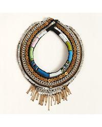 Mignonne Gavigan Aztec Petite Layne Necklace Blue/green - Multicolor
