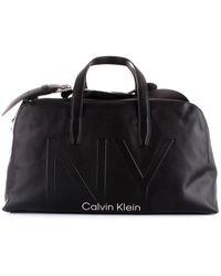 Calvin Klein K50k505271 Bag Men Black - Zwart