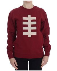 House of Holland Crewneck Pullover Sweater - Rood