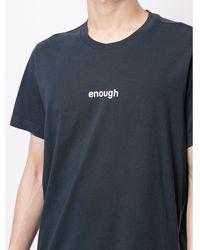 Aspesi - T-shirt Azul - Lyst