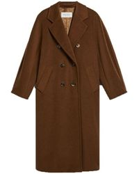 Max Mara Madame Coat - Bruin