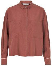 Numph Shirt - Rood
