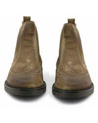 DUCA DI MORRONE Shoes 101_Pluto_Camoscio Marrón