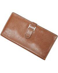 Hermès Bearn Long Wallet - Marrone
