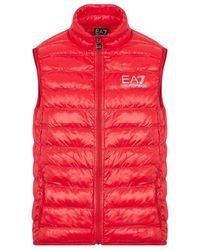 EA7 Smanicato - Rood