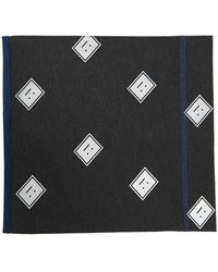 Acne Studios - Patterned tube scarf - Lyst