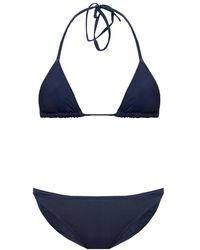 Jacquemus Peirado Two-piece Swimsuit - Blauw